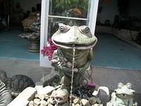 Whimsical Frog Spitter (Front View)